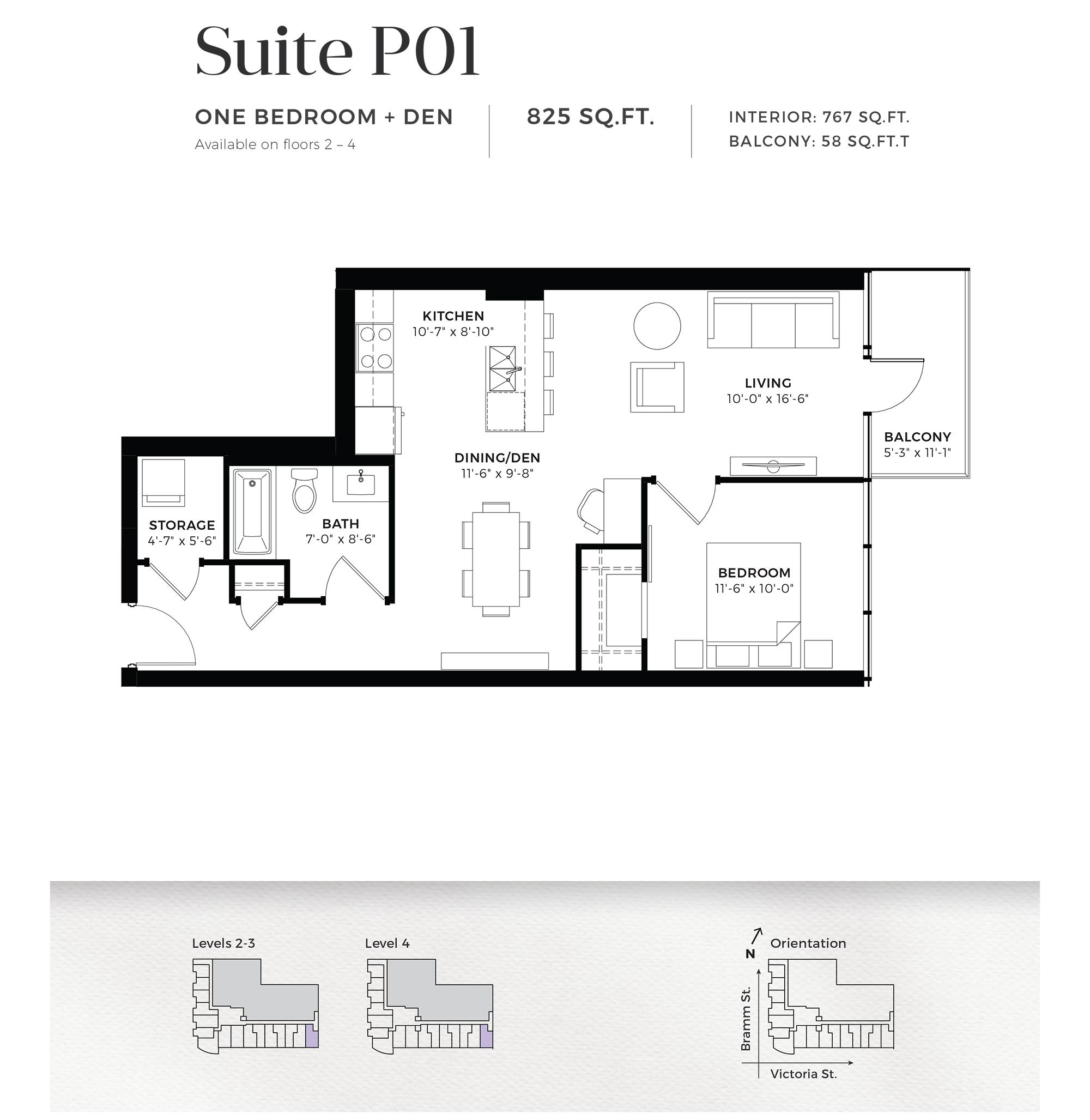 Suite P14 / P15 / P16