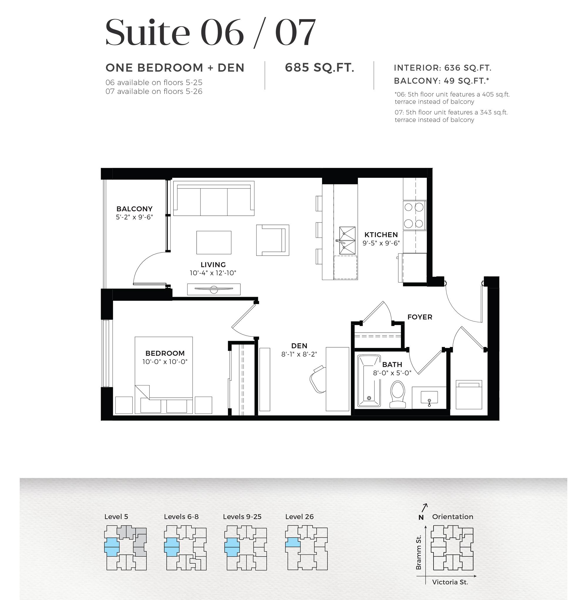 Suite 06 / 07