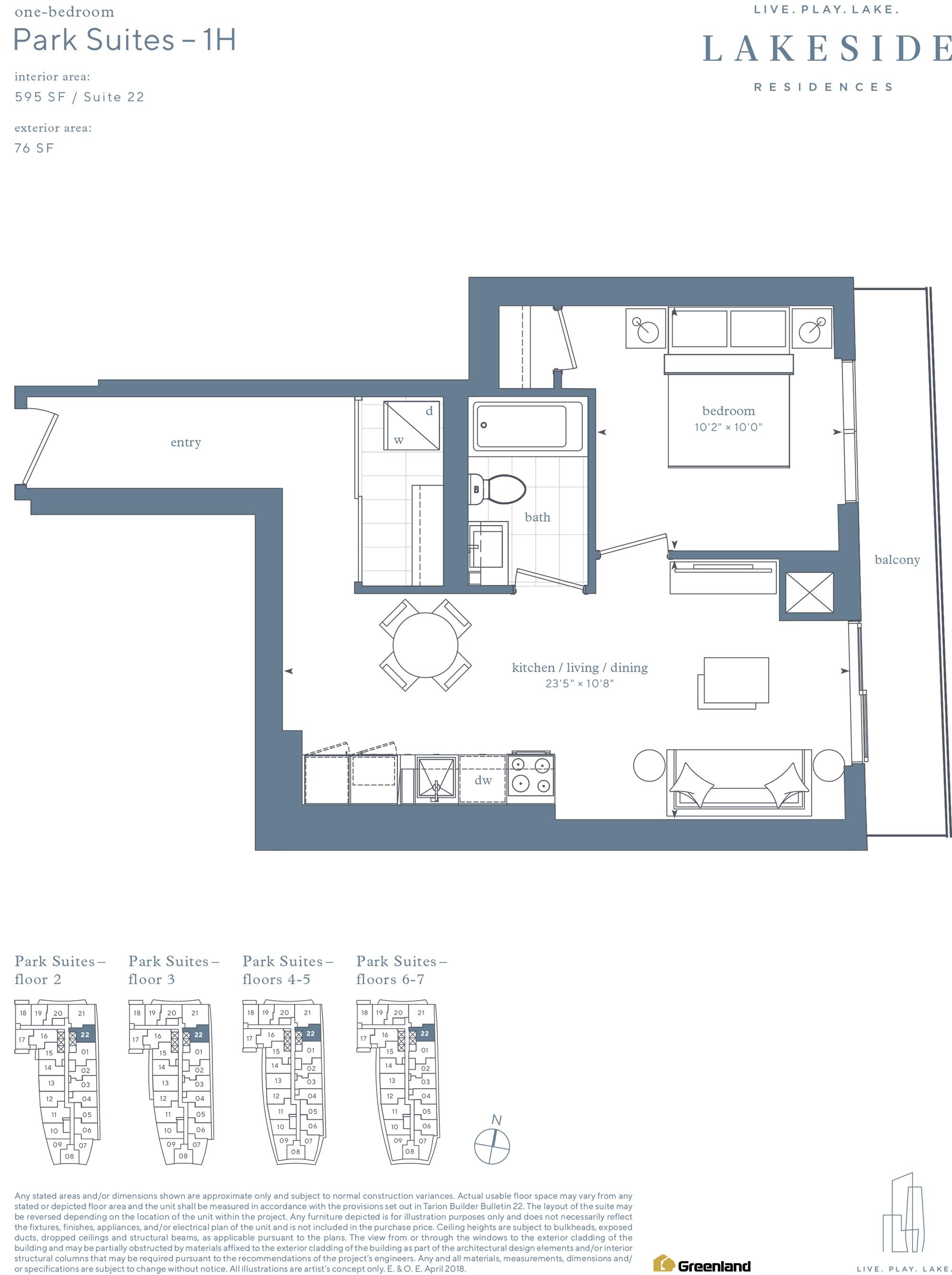 Park Suites 1B