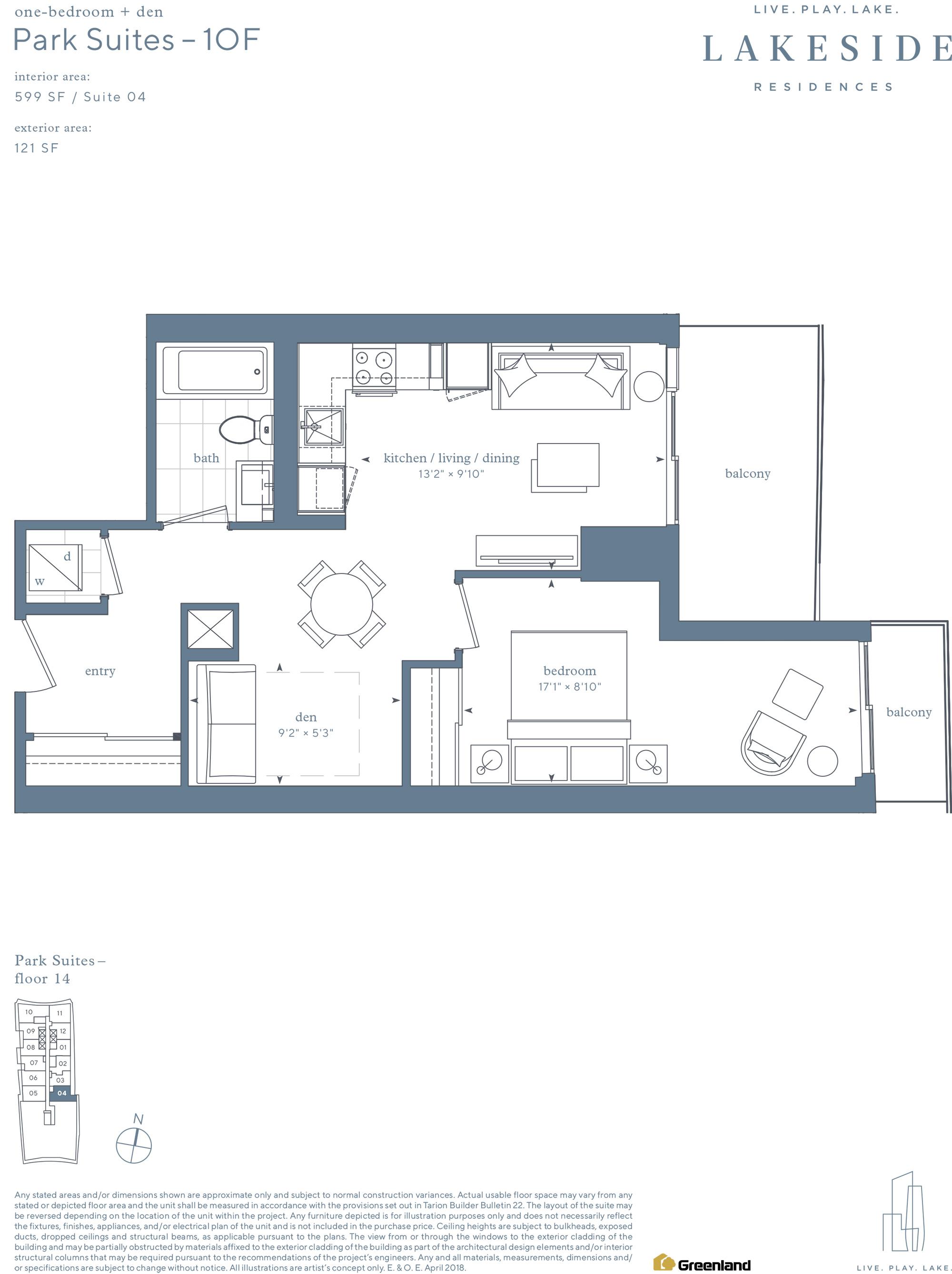 Park Suites 1B+D