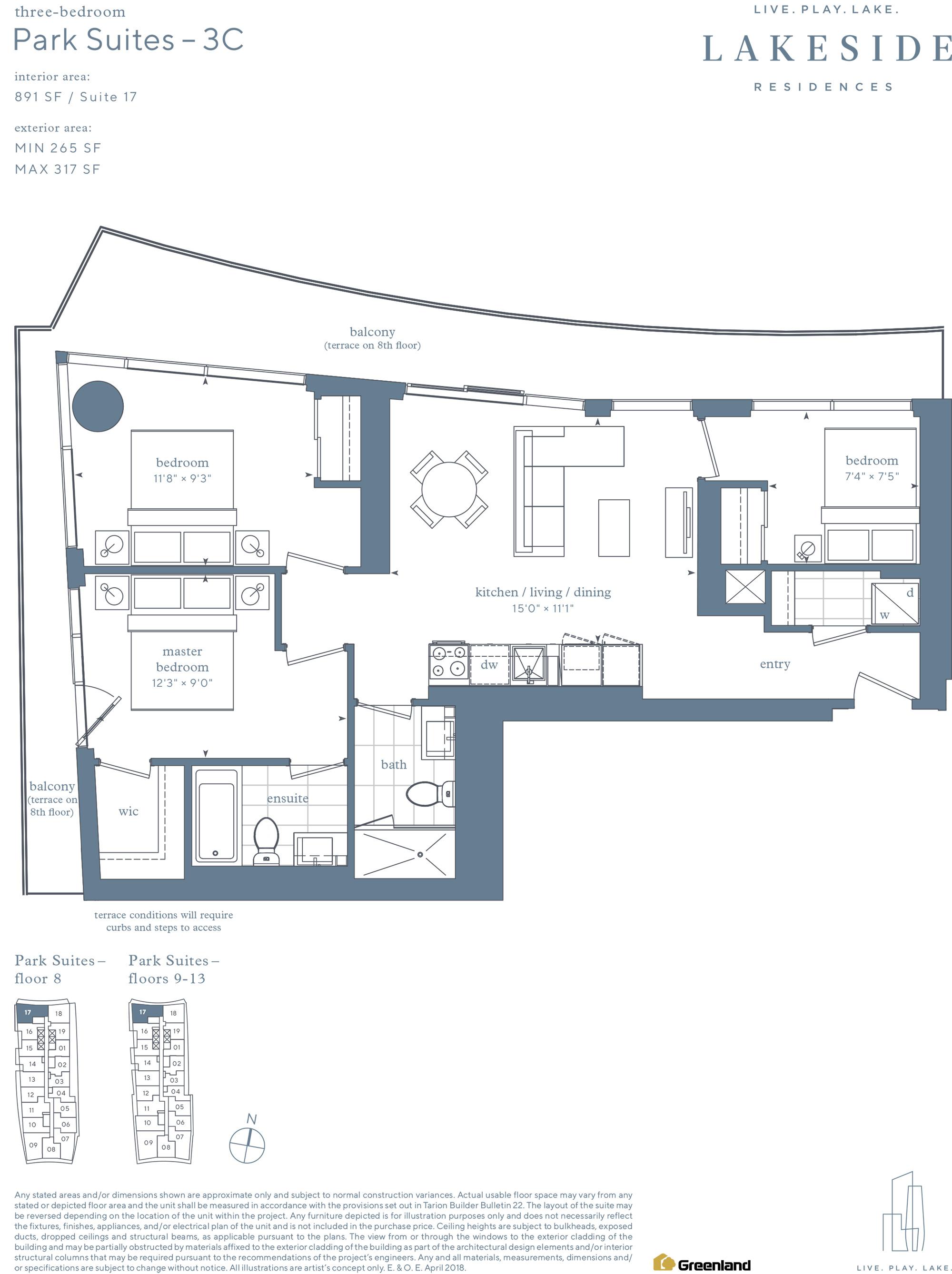 Park Suites 2B_3B+D